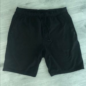 Men's Lulu Lemon 2 pocket drawstring cotton short